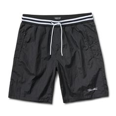 6a236221318b Primitive Creped Warm-Up Short Black