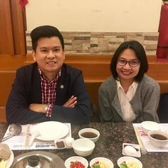 Catching up with #NZAS2013 cohort @eyafaral here in Baguio.