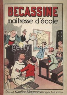 Bécassine maitresse d'école 1921