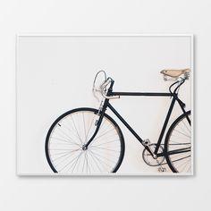 FREE Printable Art Print for your home, bicycle print