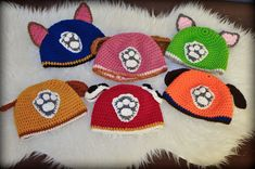 Today we try to collect photos regarding best Chase PAW Patrol Crochet Pattern sample, awesome PAW Patrol Crochet Hat Pattern reference and of course inspiring PAW Patrol Crochet Hat Pattern model to sufficient your collections. Crochet Kids Hats, Knitted Hats, Crochet Beanie Pattern, Crochet Patterns, Crochet Ideas, Crochet Cross, Knit Crochet, Crochet Paw Patrol Hat, Crochet Converse