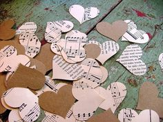 Cute for vintage themed weddings as confetti or decorations