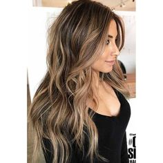 Brown Hair With Blonde Highlights, Shades Of Brown Hair, Blond Brown Hair, Brown Balyage, Brown With Caramel Highlights, Balayage Hair Brunette With Blonde, Caramel Balayage Highlights, Fall Blonde Hair, Long Brunette