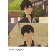 HAIKYUU-how can you not love kageyama Haikyuu Kageyama, Haikyuu Funny, Haikyuu Fanart, Haikyuu Ships, Kuroo, Kagehina, Hinata Shouyou, Haikyuu Manga, Manga Anime