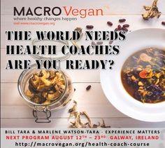 Become A Health Coach with MACROVegan MACROVegan Philosophy Environmental Health, Health Coach, Philosophy, Coaching, How To Become, Breakfast, Healthy, Food, Training