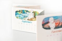 Calendar illustrations I Thailand going places by MM, via Behance