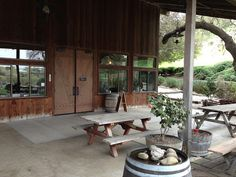 Zaca Mesa Winery, CA --Fabulous syrahs. If you can find any of their syrahs I suggest picking one up and giving it a try. (And if you can go there in person, so much the better!)