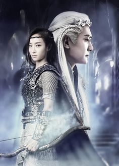 Ice fantasy! Chinese drama. Love it so, so much
