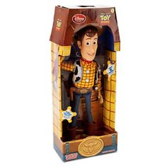 "Disney Store TOY STORY 3 TALKING WOODY ACTION FIGURE COWBOY DOLL 16"" NEW #Disney"