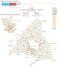El PP propone la elección directa de un tercio del Parlamento de Madrid La región se dividiría en 43 circunscripciones, donde los votantes optarían por un solo candidato El resto de los 129 diputados se elegirían en listas cerradas      GRÁFICO Proyecto de la reforma electoral en la Comunidad de Madrid