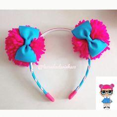 Diy Baby Headbands, Diy Headband, Baby Bows, Handmade Hair Bows, Diy Hair Bows, Diy And Crafts, Crafts For Kids, Homemade Art, Making Hair Bows