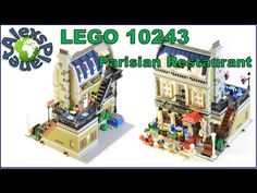 Lego Parisian Restaurant 10243 modular building Review