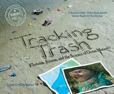 Multiple text structures. Compare and contrast on p. 18. Tracking Trash: Flotsam, Jetsam, and the Science of Ocean Motion (Scientists in the Field Series) by Loree Griffin Burns