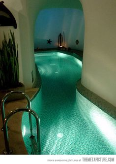 Awesome indoor swimming pool…