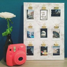 Check out this super easy 'DIY Polaroid Display ✂️' over on Jemstory  #diy#create#art#handmade#craft#project#marble#gold#polaroid#instagood#instax#floral#fresh#adventure#travel#photooftheday#calledtobecreative#decor#style#greece#rome#paris#costarica#surelysimplediy#dublin#grancanaria#blogger#lifestyle#Jemstory