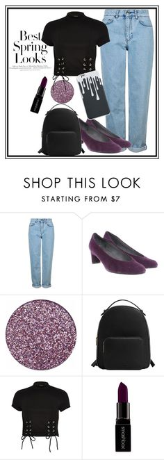 """""""Untitled #3"""" by notosuper on Polyvore featuring Topshop, Stuart Weitzman, MANGO, H&M, River Island and Smashbox"""