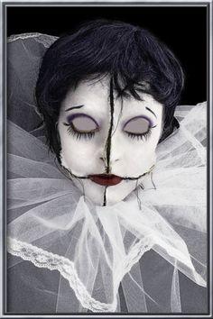 Broken doll #halloween #makeup
