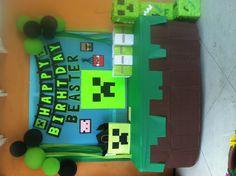 Minecraft birthday idea