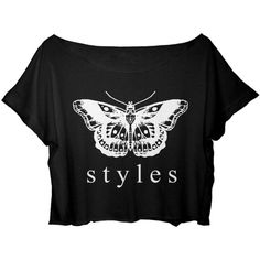 ASA Women's Crop Top One Direction T-shirt Harry Styles Tattoo Shirt ($17) ❤ liked on Polyvore featuring tops, t-shirts, shirts, tattoo shirt, crop shirts, crop top, t shirts and henley shirt
