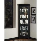 Found it at Wayfair - Oxford Black Corner Curio Cabinet