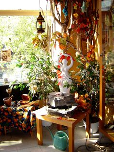 sacred bohemian altars decor altar plants magickal space wiccan pagan room witch witchcraft living magick bedrooms hippie bathroom shrines garden