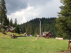 Romania, red lake