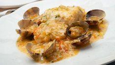 Pasta filo o masa filo - Juan Mari Arzak - Güveç yemekleri - Las recetas más prácticas y fáciles Salsa, Homemade Beauty Products, Fish And Seafood, Shrimp, Food And Drink, Health Fitness, Meat, Chicken, Sashimi