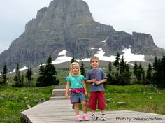 Top 10 Things to do with Kids in Montana. Number 1? Glacier National Park! Trekaroo.com/blog