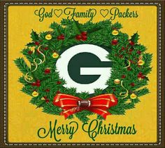 Merry Christmas from a Packer fan. Green Bay Packers Wallpaper, Green Bay Packers Logo, Go Packers, Packers Football, Greenbay Packers, Football Season, Aaron Rogers, Green Bay Football, Wisconsin Badgers