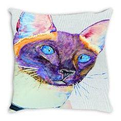 Throw pillows $26-$31 - Malika Pet Art