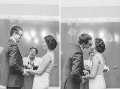 NYC City Hall Wedding Photos in NYC. Captured by NYC City Hall Wedding Photographer Ben Lau.
