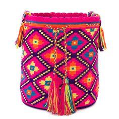 Wayuu Bag / Wayuu Mochila Authentic Handmade by ColombianMadeShop