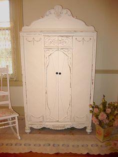 Chiffarobe would be beautiful in a guest bedroom.