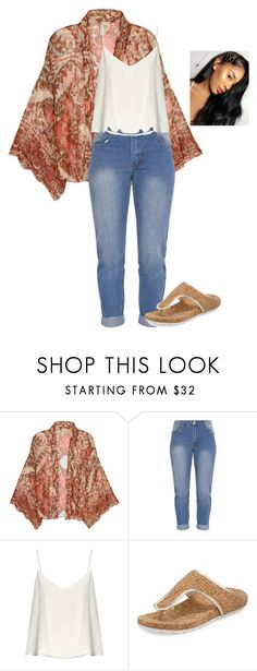 """Lazy Day Outfit #2"" by mikamik on Polyvore featuring Free People, Raey and Donald J Pliner"