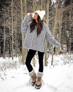 + Trends snow outfits for women Cold weather Casual winter fashion today – Winter Clothes Bloğ Snow Outfits For Women, Winter Outfits For Work, Cute Fall Outfits, Casual Winter Outfits, Winter Fashion Outfits, Autumn Winter Fashion, Clothes For Women, Winter Snow Outfits, Snow Day Outfit