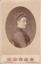 VINTAGE RUSSIAN IMPERIAL ANTIQUE CABINET PHOTO GRAND DUCHESS QUEEN OLGA GREECE