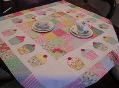 The Patchwork Tea House - Cup Cake Quilt