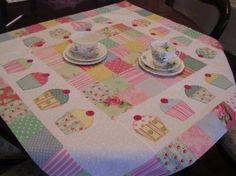 Toalha de mesa - Cup Cake