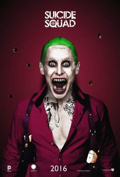 Jared Leto as The Joker #3 - Suicide Squad (2016) by CAMW1N on @DeviantArt
