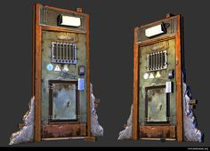 Steel Door - Polycount Forum