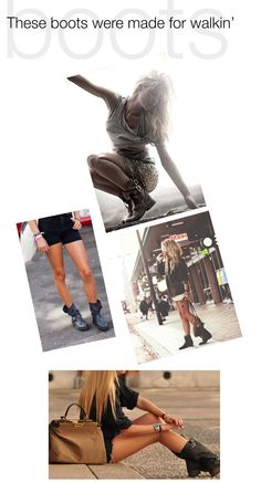 Boots for summer. One of my fashion standbys.