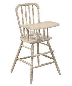 @Overstock.com.com - Jenny Lind Natural High Chair - Sturdy construction and elegant design elements make this Jenny Lind Natural High Chair a smart choice for parents.Crafted of solid hardwoodDetailed classic spindle motif...  http://www.overstock.com/Home-Garden/Jenny-Lind-Natural-High-Chair/1558604/product.html?CID=214117 $59.99