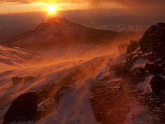 Breathtaking Sunrise | Sunrise on Mount Kilimanjaro / Discover the Breathtaking Beauty of ...