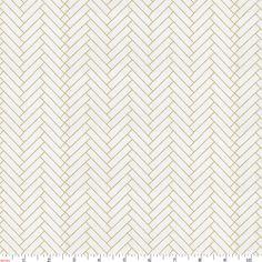 Gold Herringbone Fabric by the Yard #carouseldesigns