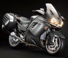 2013 Kawasaki 1400 GTR Grand Tourer #motorcycles