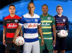 QPR Lotto Kits 2013/14 - Football Shirts   The last of Lotto's 5 seasons and finally they come up with tasteful designs.