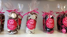 Inside the Waynesboro Store...Need a Sweet treat to quell that chocolate craving?? Then you need to stop by either our Waynesboro or Frederick Location to pick some Nonpareils decked out with pink and white sprinkles...guaranteed to make anyones day better!