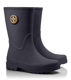 Cute Tory Burch rain boots