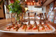 cedar plank salmon   passed hors d oeuvres   menu