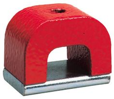 General Tools & Instruments 370-2 Horseshoe Power Alnico Magnets 12-Pound Pull